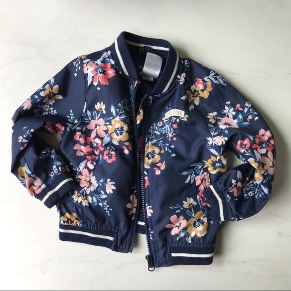 Carter's Other - 24 month floral bomber jacket